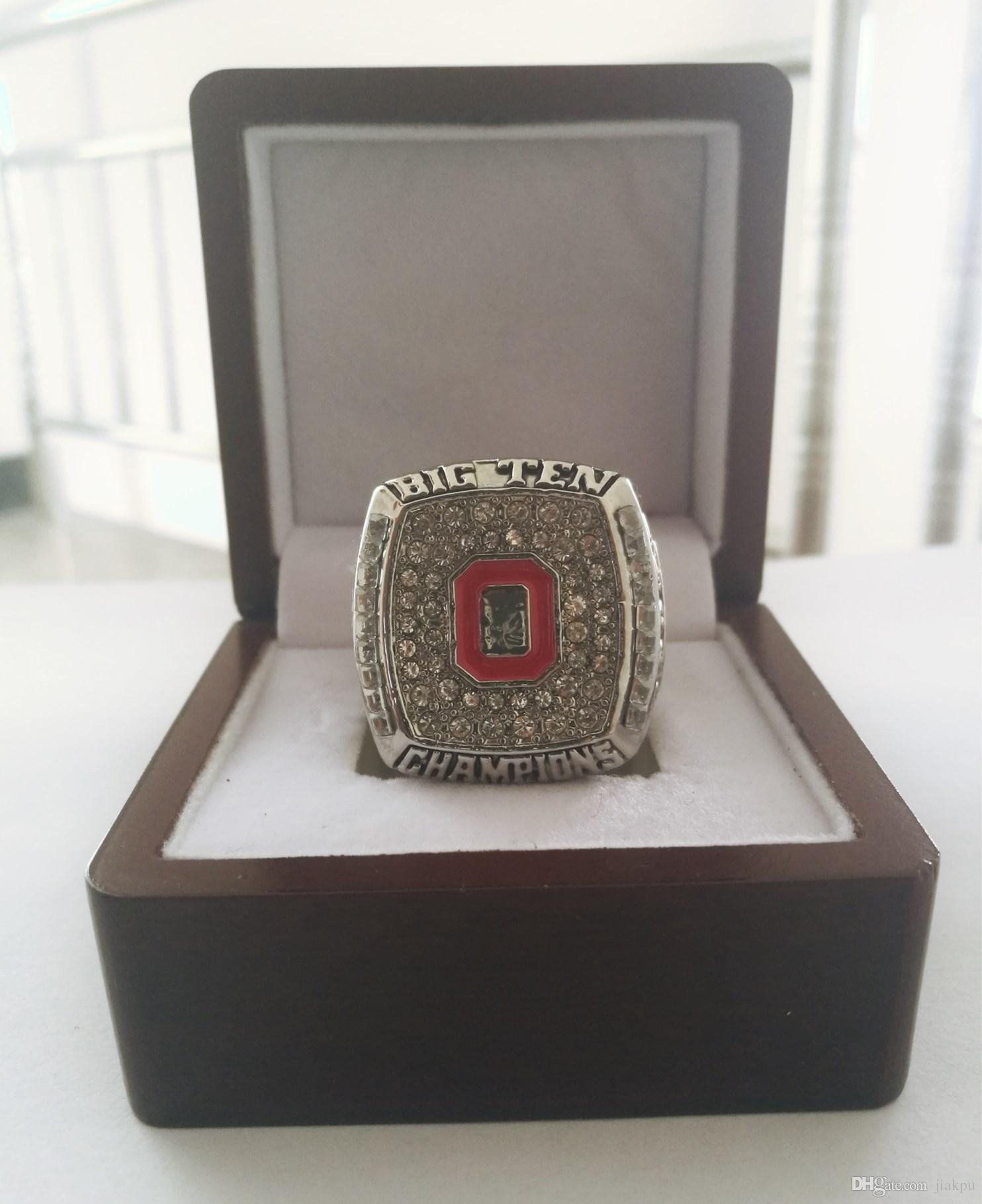Оптовая 2009 штат Огайо большая десятка Чемпионат кольцо TideHoliday подарки для друзей