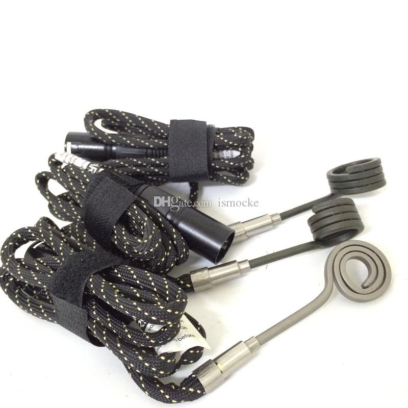 Atacado E prego enail bobina aquecedor elétrico dab unha plana 10mm 16mm 20mm 110 V 220 V para Ti Titanium unhas de quartzo