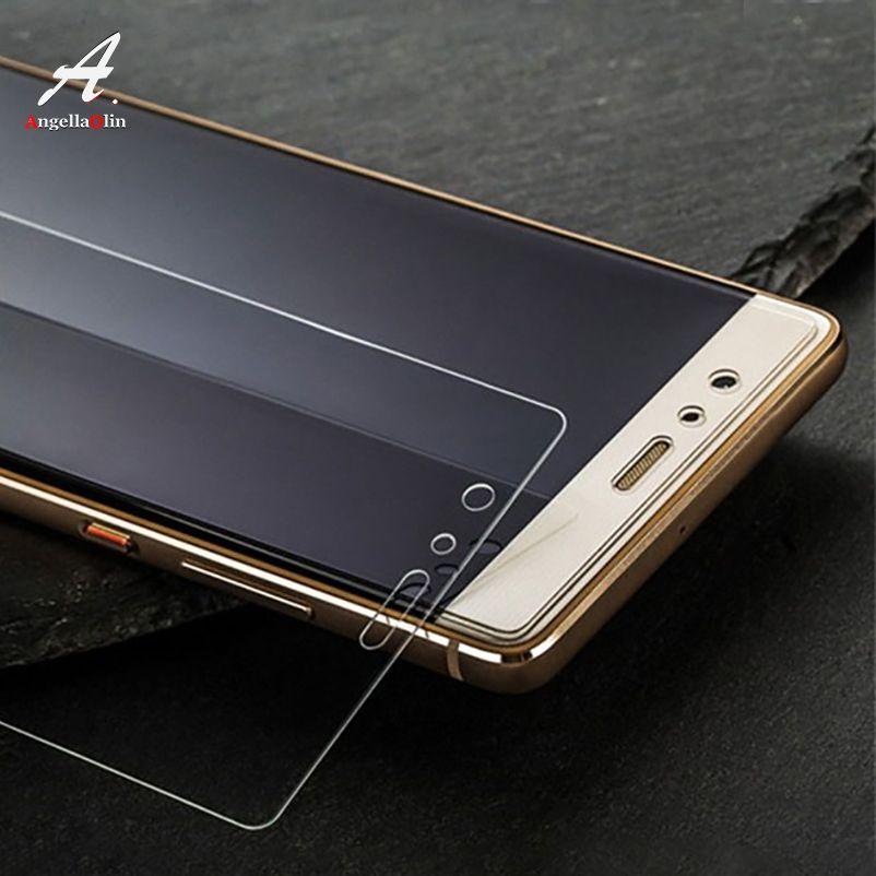 9H templado de vidrio para Huawei P20 Pro lite p10 mate 10 P Smart 2017 para Honor 10 6C 8 7X 6A protector de pantalla estuche de película de vidrio P20