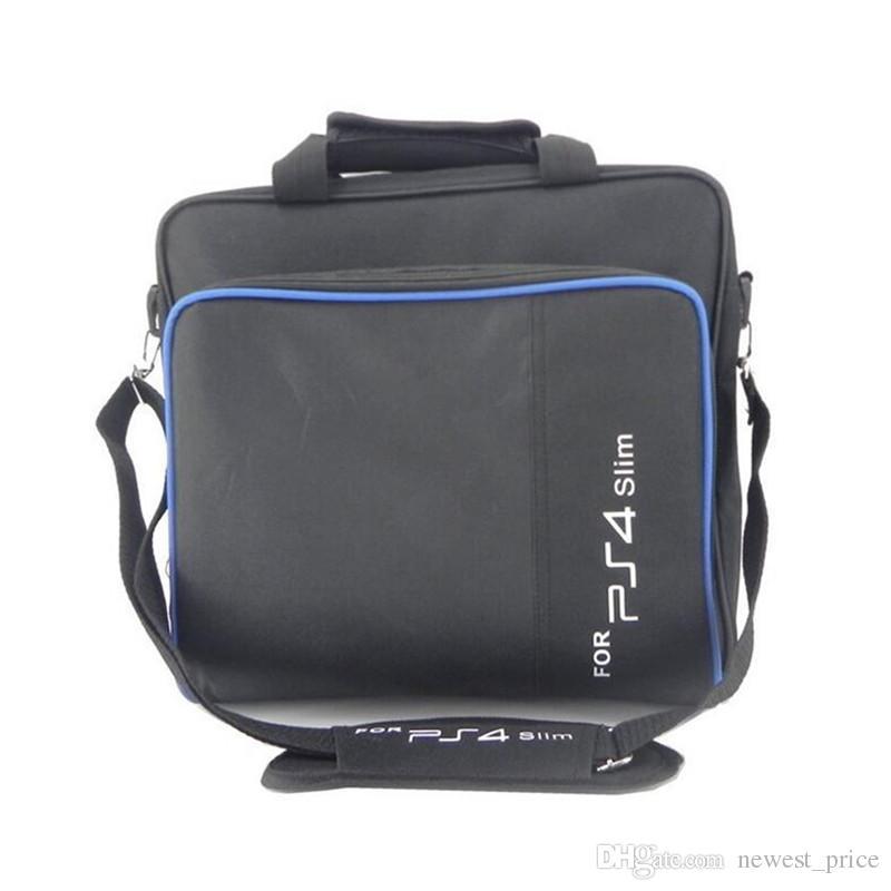 플레이 스테이션 4 PS4 프로 콘솔 PS4 슬림 게임 시스템이 재부 가방 캔버스 케이스 보호 숄더 캐리 가방은 원래 크기