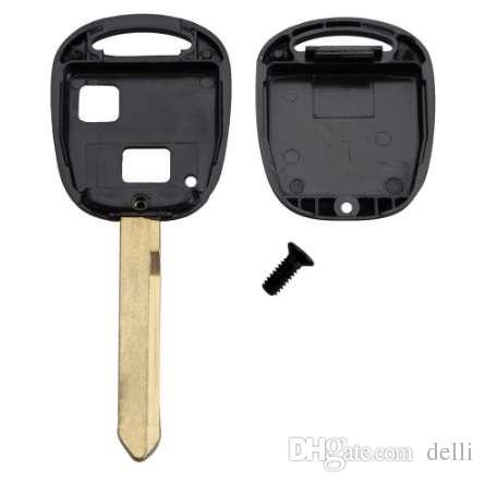 2 زر مفتاح السيارة شل لتويوتا ياريس كورولا RAV4 مفتاح فوب عن بعد حالة D20