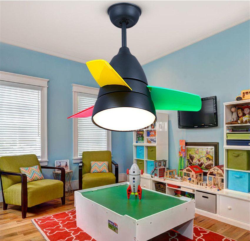 2019 Modern Ceiling Fan Light Living Room Childrens Room Bedroom Restaurant  Electric Mini Fan Lights 220v 65W From Happylights, $155.25 | DHgate.Com