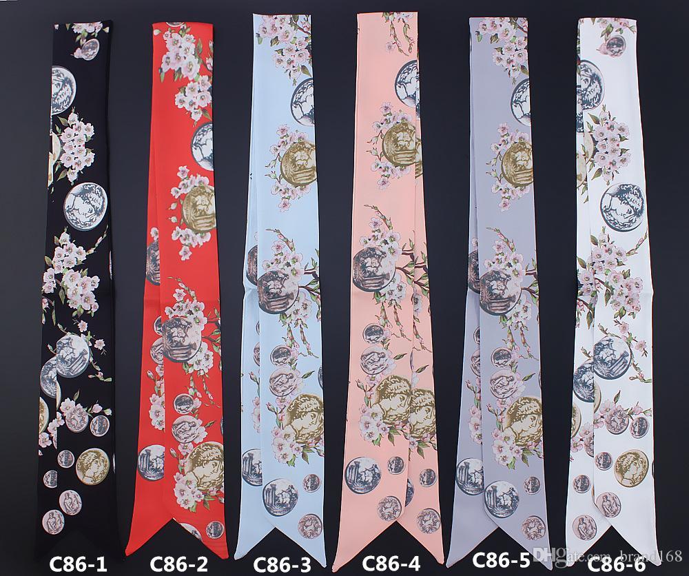 10 pçs / lote Pequena flor para o lenço das mulheres bela decoração pequena fita Bolsa / cabelo / Pescoço / mix de fita de Pulso enviar!
