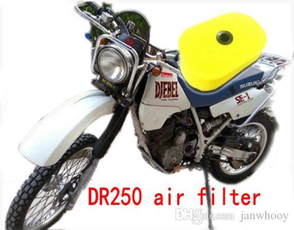 الإسفنج فلتر الهواء دراجة نارية فلتر الهواء تدفق عالية لسوزوكي DR250 جبل 250 1998-2007 العام الإسفنج مواد ذات جودة جيدة