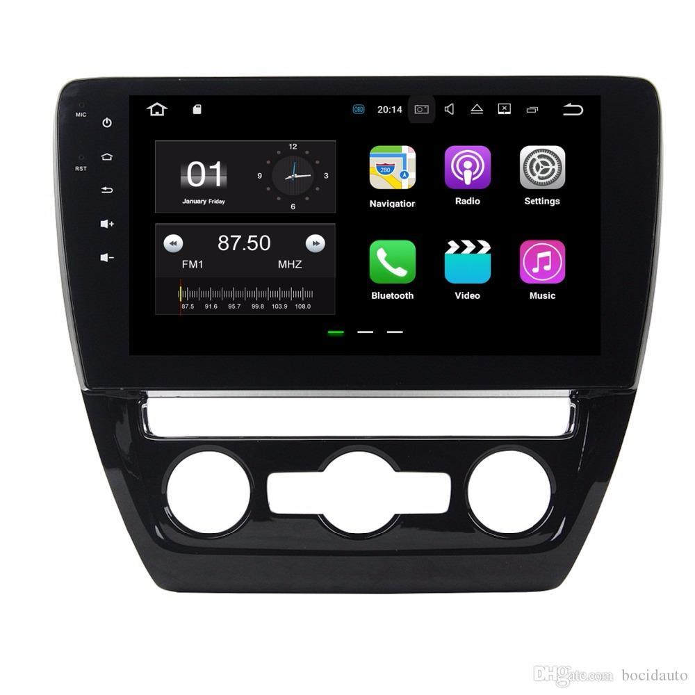 أندرويد 7.1 سيارة راديو دي في دي GPS رئيس وحدة الوسائط المتعددة سيارة دي في دي لشركة فولكس فاجن فولكس واجن SAGITAR 2015 2016 مع 2GB RAM بلوتوث WIFI مرآة رابط