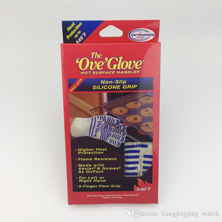 Guanto di calore a prova di riscaldamento 540 Forno Microonde Microonde Resistente alla Microonde Cucinare F Prova Forno a prova di superficie Glove Guanti Hot Mitt Guanti Guanti GGA678 OWRHH