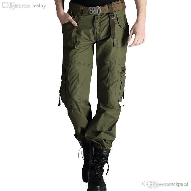 Sonnig Cargohose Multi Pocket Jogger Seitlichem Reißverschluss Hosen Mode Sweatpant Beiläufige Lange Hose Im Freien Hip Hop Pantalones Hombre 211 Mutter & Kinder