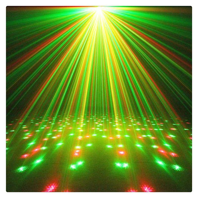 Projector Laser Venda quente bonita criatividade Litake Mini Estágio luz LED verde Red Star activada por voz para Club Disco DJ Party Bar