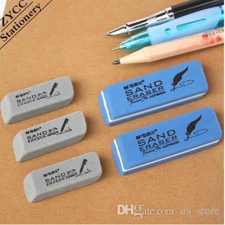 3 шт. / лот скраб ластик гелевая ручка авторучка шариковая ручка чернила ластик компьютер плагин очистки ластик