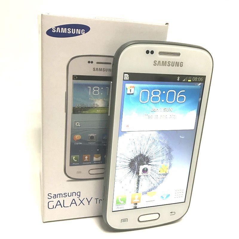 Heißer Verkauf Samsung GALAXY Trend Duos II S7572 S7562I 3G Smartphone 4.0 Zoll Bildschirm Android 4.1 Dual Core Unlocked