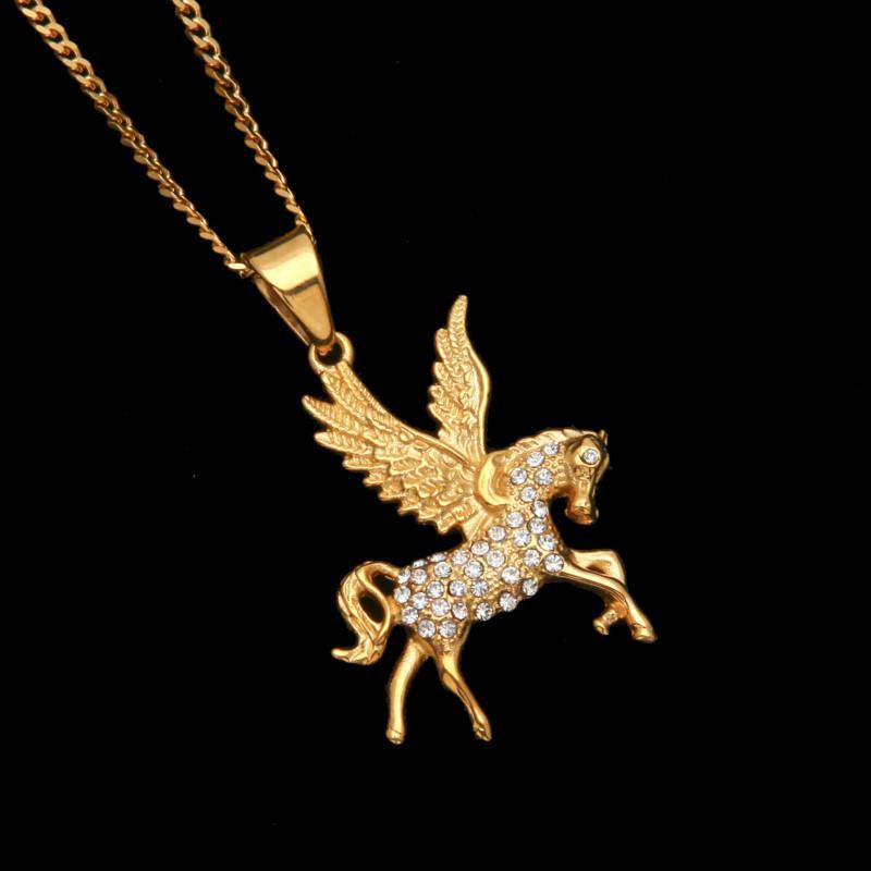 Pegasus Pendentif pour Mythe Grec sur le thème de bijoux