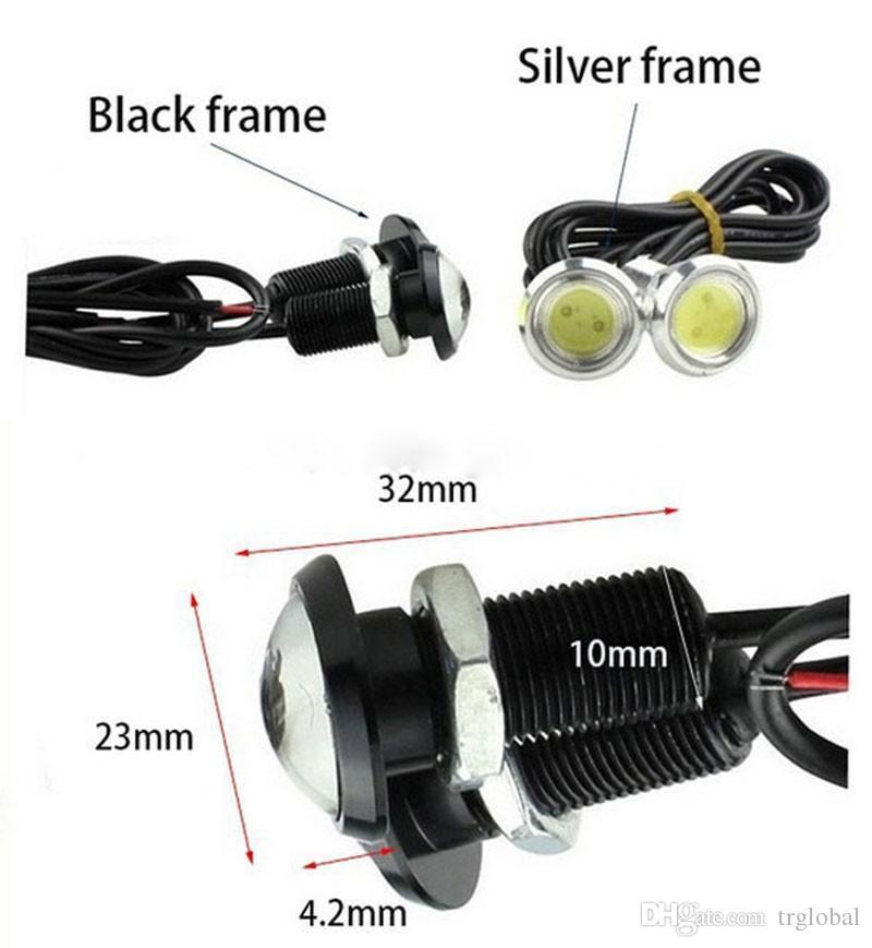 LED Eagle Eye 23mm Lampa12V LED Car DRL DRL Dzień Light Source Parking Light Light