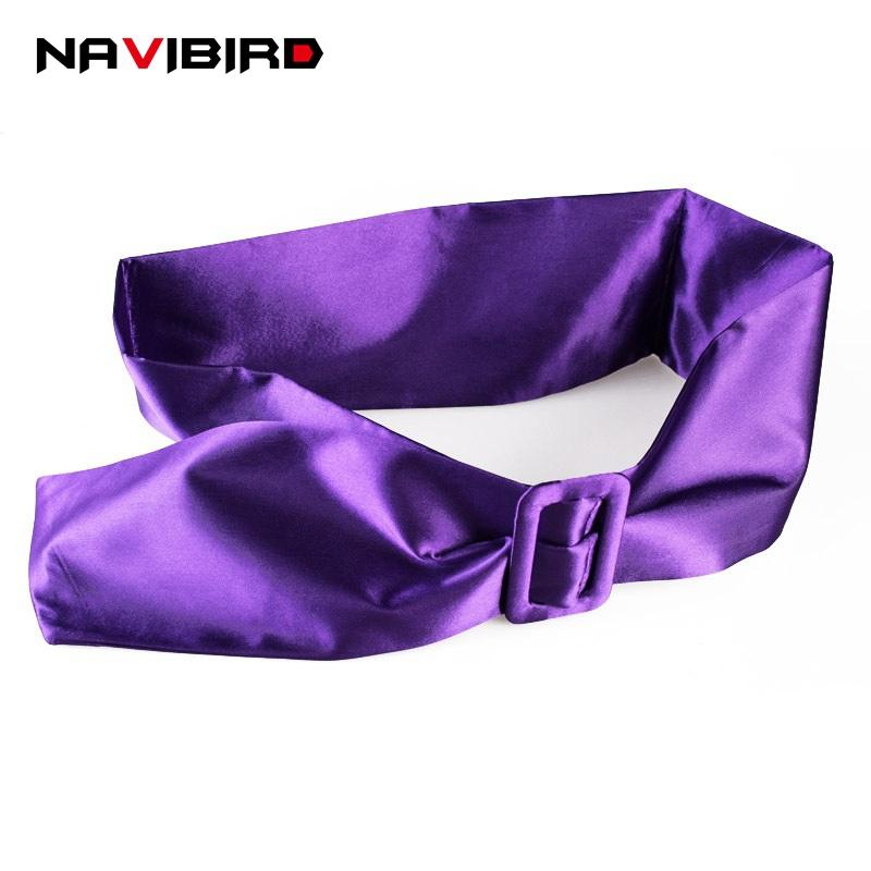 Vintage Metal Rectangle Buckle Silk Bow Tie Waistband Seal Wedding Dress Belts For Women Fashion Corset Belt Purple Brede Riem