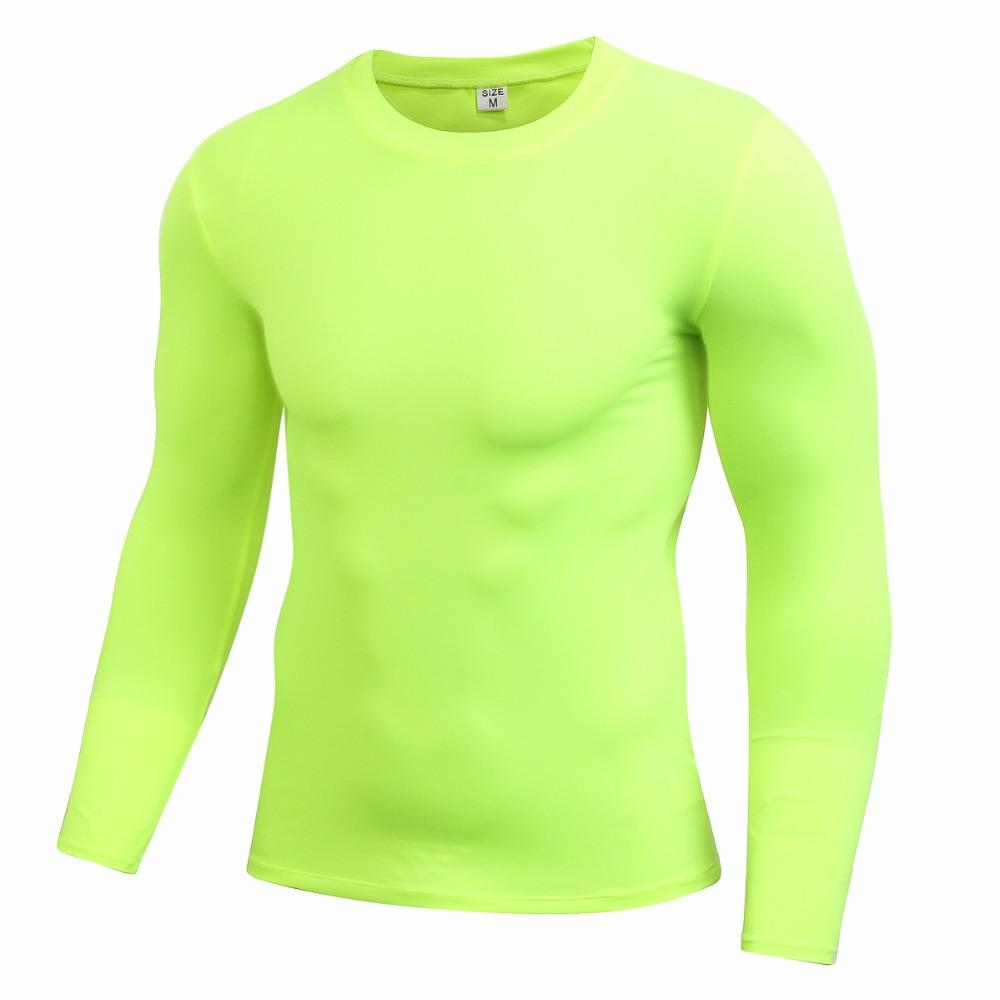 Men/'s Sports Gym Compression Under Base Layer Tops Long Sleeve Quick Dry T-Shirt