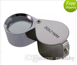 30x 21mm verre grossissant loupe bijoutier oeil bijoux boucle de loupe 360 pièces up