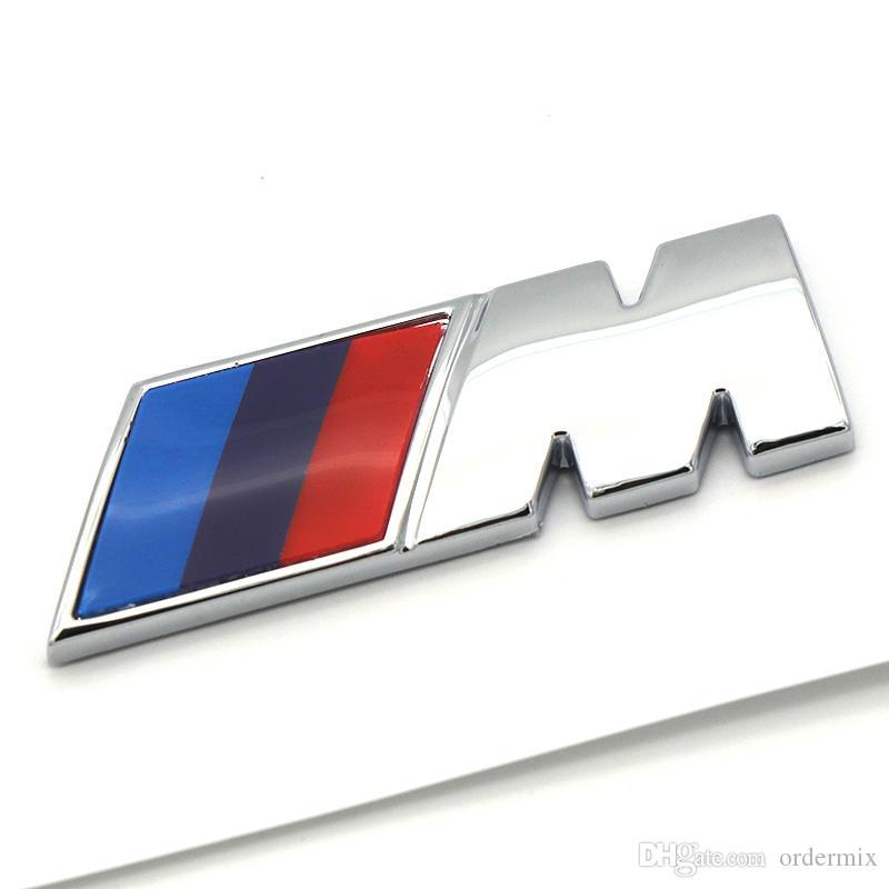 Стайлинг автомобилей ABS CAR M Power Performance Значок Фендер Эмблема Наклейка M Наклейка для BMW E46 E52 E53 E60 E90 E93 F30 F20 M3 M5 M6