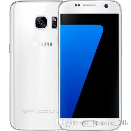 Original Samsung Galaxy S7 G930A G930T G930P G930V G930F Octa Núcleo 4GB / 32GB 5.1 polegadas Android 6.0 12MP Remodelado telefone