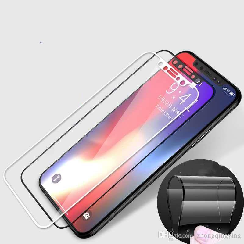 Iphone X Stahlfilm 6S Handyflecken 7plus 8plus Großhandelsvollbild gehärteter Membrangroßhandel