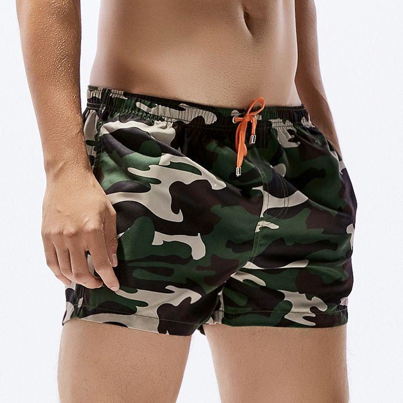 SEOBEAN Nouveau Shorts De Camouflage Casual Hommes D'été Sexy Beach Shorts Confort Homewear Fitness Workout Drop Shipping