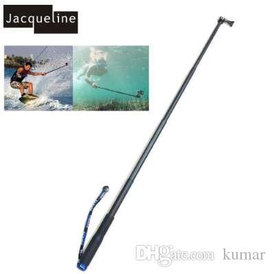 Jacqueline for 28cm to 92cm Underwater Waterproof Selfie Sticks Monopod for Gopro hero HD 6 5 4 3+ 3 SJCAM for eken yi