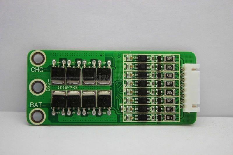 Freeshipping 8s 40A Proteção da bateria BMS PCB Board durante 8 Packs 24V Lifepo4 celular ion start-stop 40A com fosfato de ferro de lítio Balance