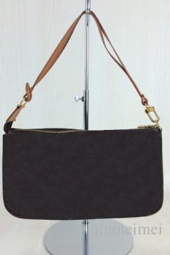 FASHION POCHETTE Chains handbag brand real leather canvas shoulder crossbody bags m40712 Damier Vintage Mahjong EVA CLUTCH bags