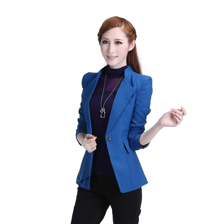mejor amado precio favorable 2020 2019 Casual Fashion Suit Women Blazer Buttons Cape Elegant Womens Blazers  Long Sleeve Korean Suit Chaquetas Mujer Woman Coat X50030 From Southc, ...
