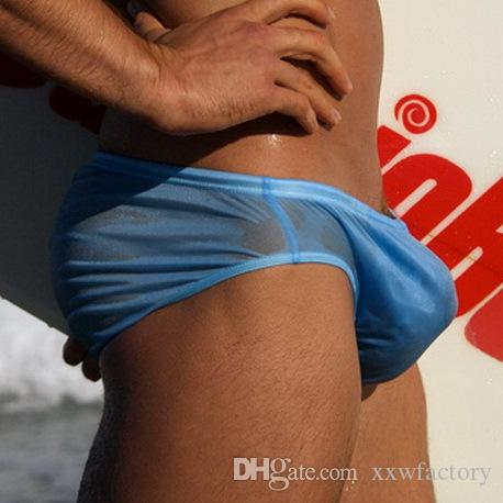 Sexy Swim Briefs Tronchi di nuoto da uomo Spa Pool Beach Nuoto sexy Costume da bagno Vita bassa Slip Gay Costumi da bagno Boxer