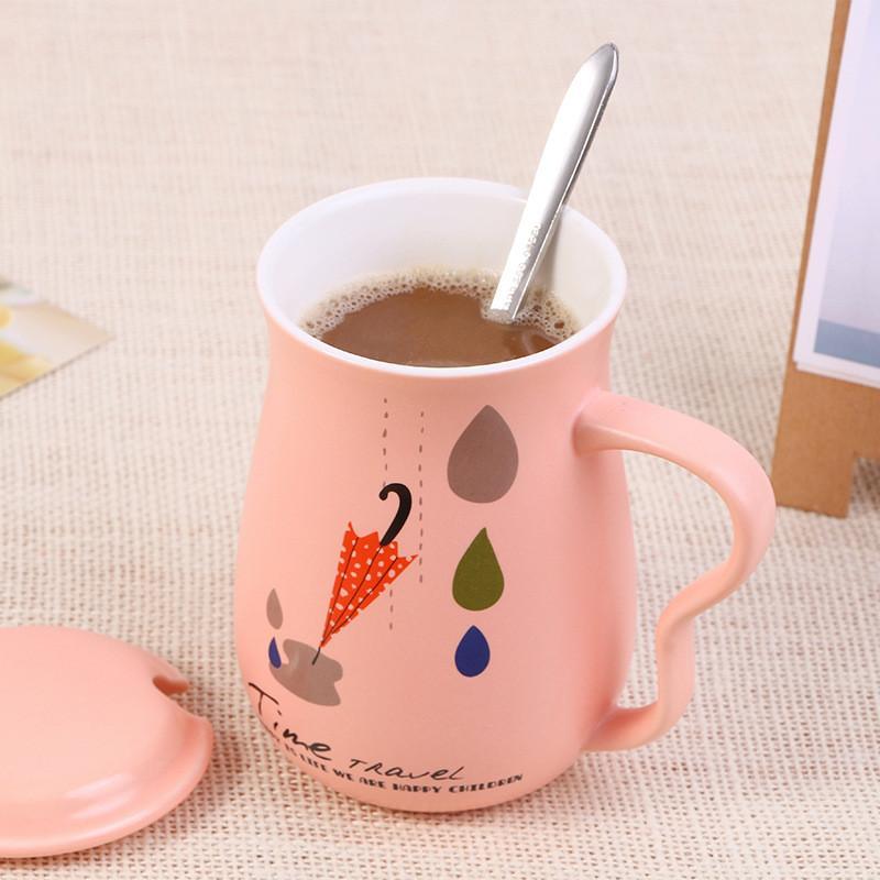 The Coffe Cup And Mugs Personality Coffee Succo di latte Wine Beer Cup Divertimento Porcellana Tazza di tè Zakka Bicchiere per bambini Regali per gli amici