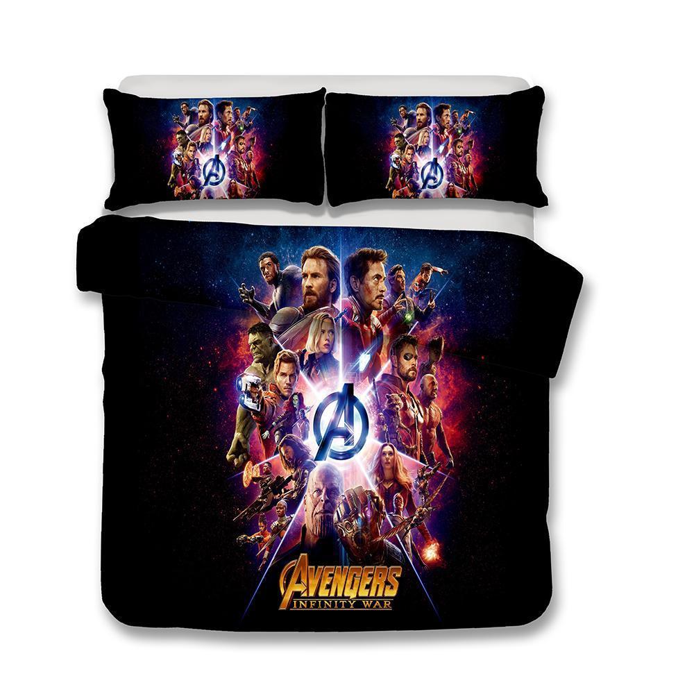 Copripiumino Avengers.Acquista Set Di Lenzuola Copripiumino Marvel Avengers 3 Infinity