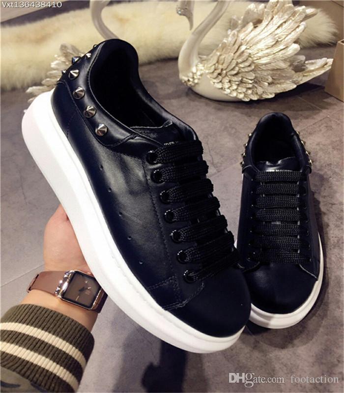 2018 Luxury Designer Men Casual Shoes