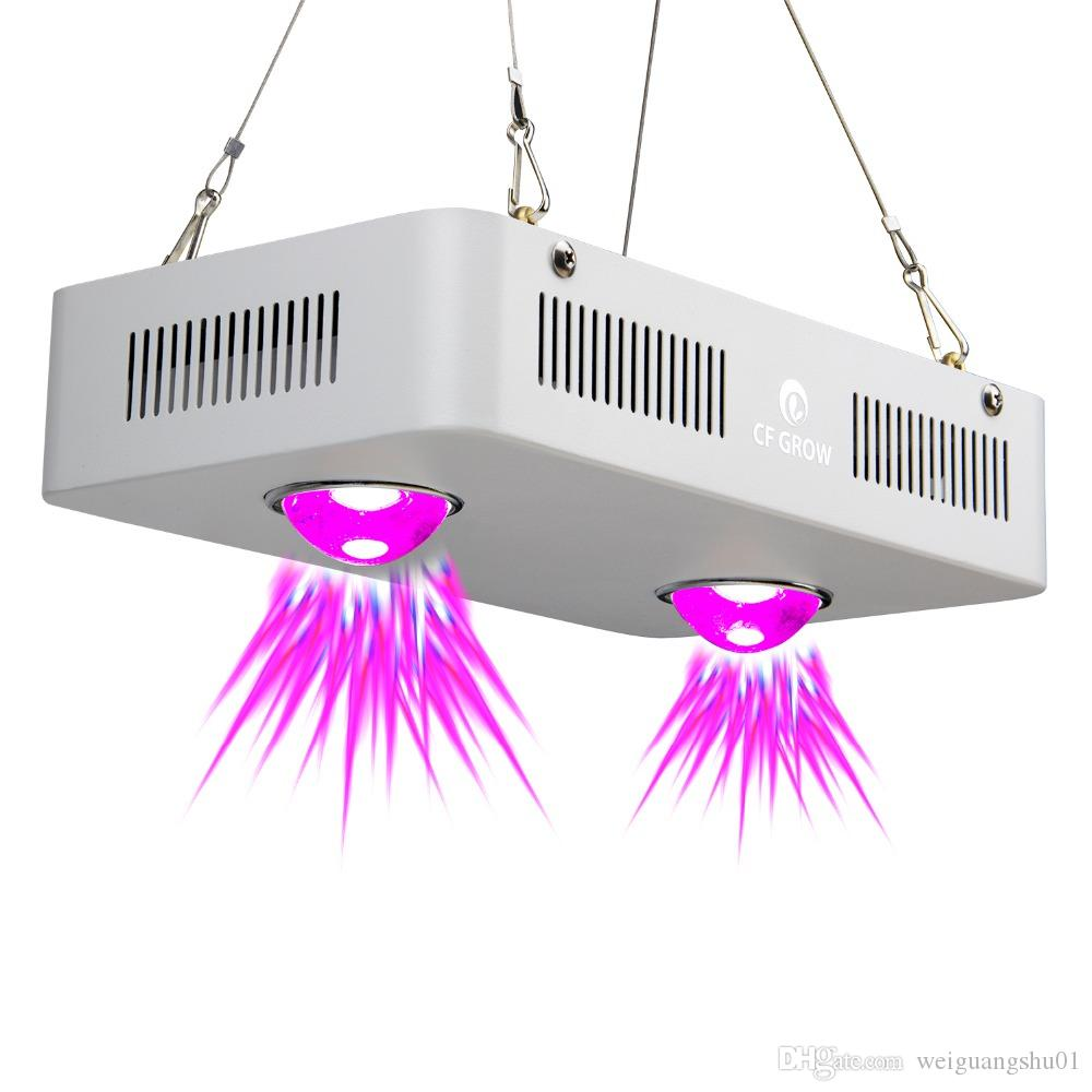 CF Grow 300W COB LED Grow Light Full Spectrum Indoor Hydroponic Greenhouse Plant Growth Lighting Replace UFO Growing Lamp