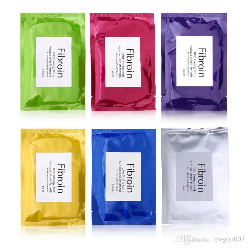 Silk Fibroin Ultra Firming Facial Mask Masque Cosmetics Makeup Whitening Moisturising Skin Care Beauty Treatments Brands DHL Ship!