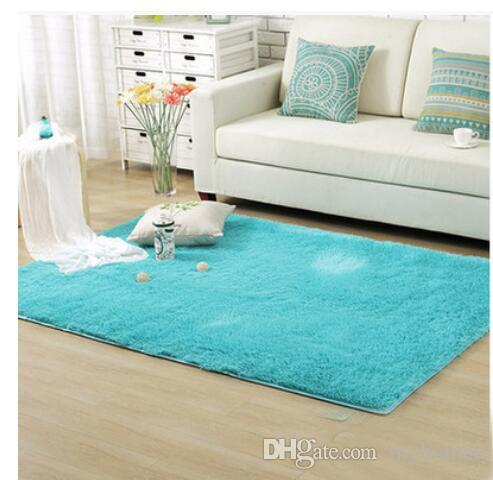 Fluffy Rugs European Style Anti-Skid Shaggy Area Rug Dining Room Home Bedroom Carpet Floor Mat Can Be Customized Free Shipping
