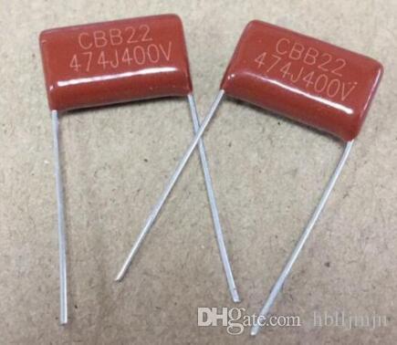 100szt CBB kondensator filmowy CBB .47uf 474J 400V 047uf