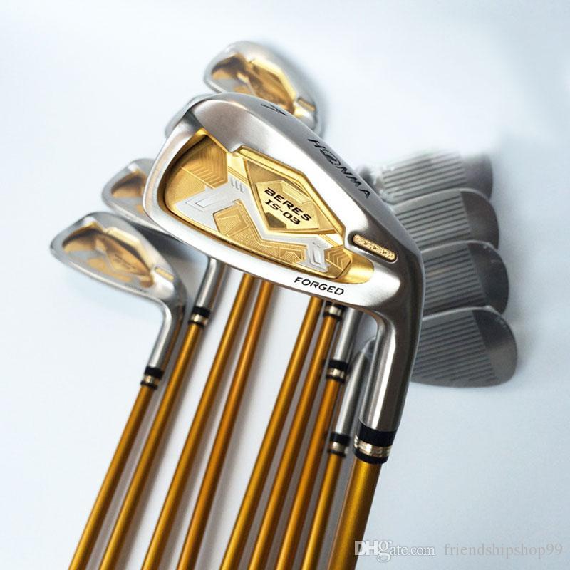 Nouveaux terrains de golf HONMA S-03 Clubs 3 étoiles 5-11.