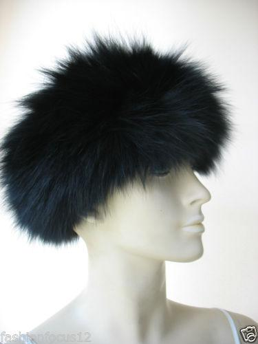 real warmest fox fur knitted headband/scarf /3 colors