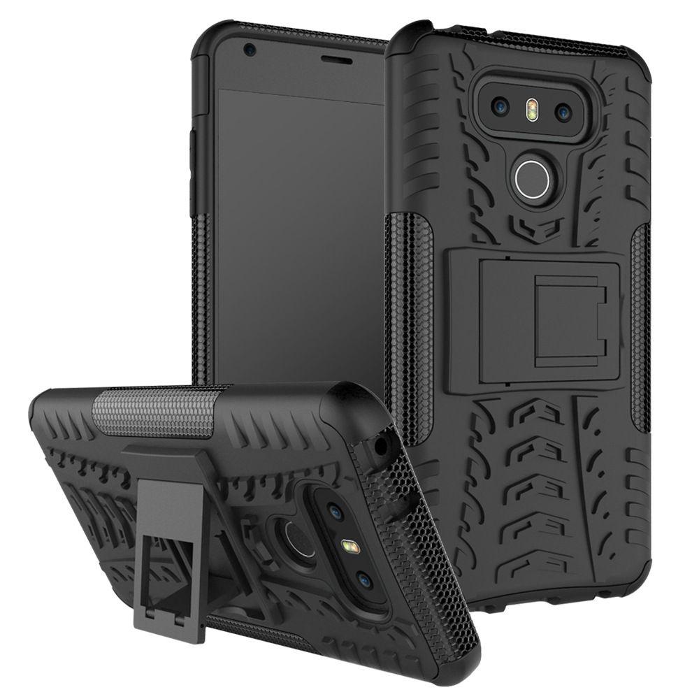Dla LG G3 Nexus 6 K4 K120E K130E V20 X Style Tribute HD X Skin X Power Przypadki Kickstand Armor Duty TPU + PC Pokrywy