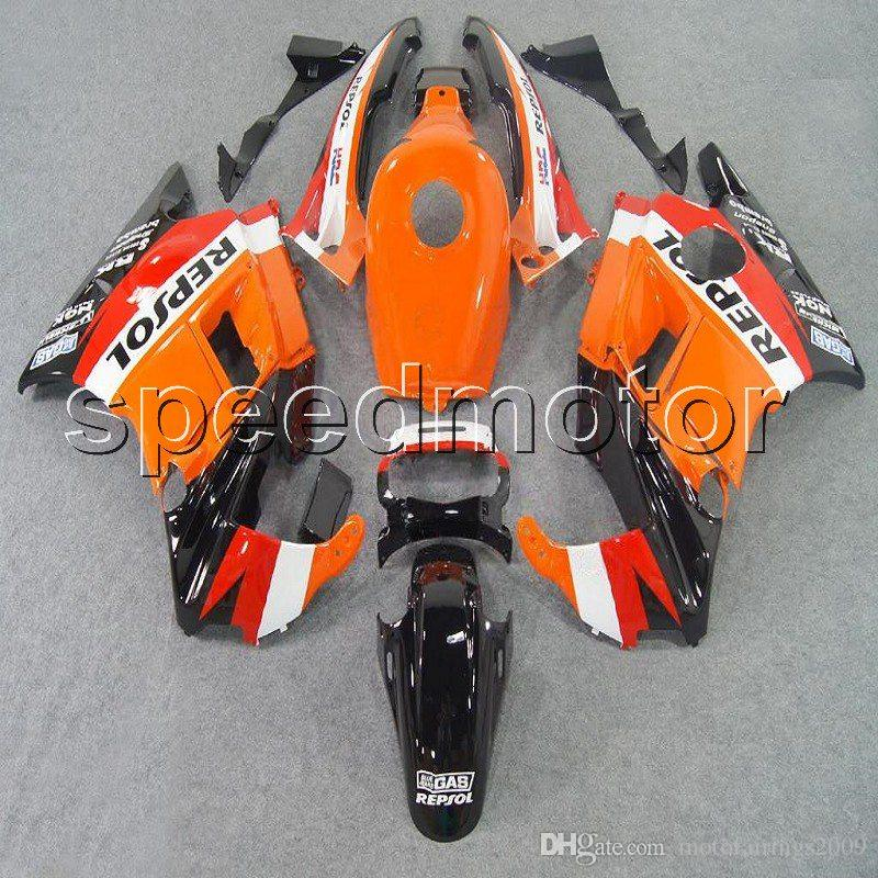 23colors+Gifts repsol motorcycle cowl Fairing for HONDA CBR600 F2 1991 1992 1993 1994 600F2 91 92 93 94 ABS plastic kit