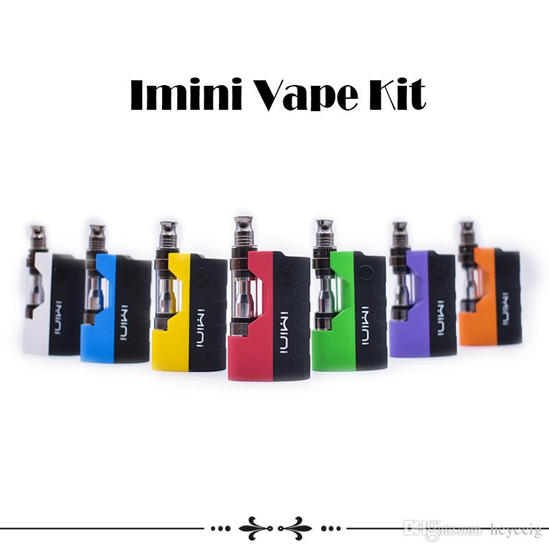 Original Imini vape Kit Cartridges Starter Kit with Liberty V1 Cartridges 500mAh Vape Preheat VV Mod Fit Thick Oil Cartridges wax Atomizer