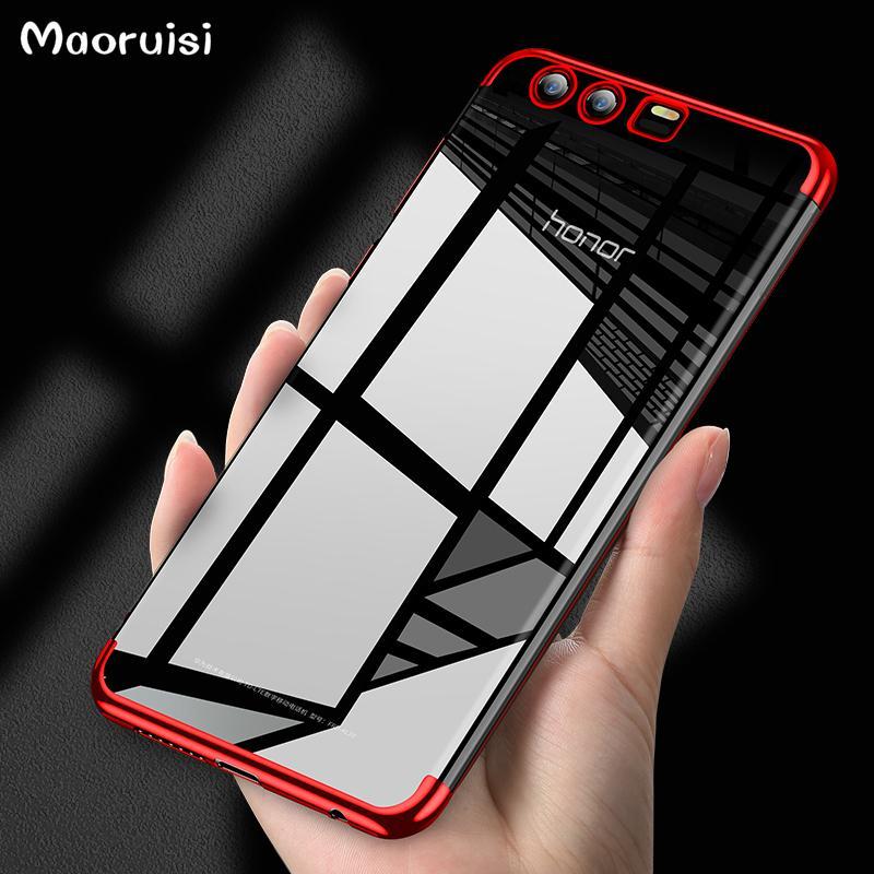nuovo di zecca f9adc ad760 For Huawei Honor 9 TPU Cover Silicon Soft TPU Case Luxury ...