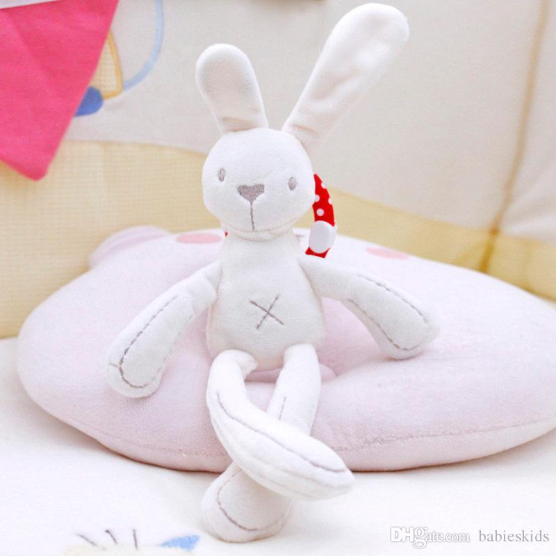 Smart Baby Plush Toy Bear Soft Stuffed Animals infant Doll Mobile Bed Pram kid Animal Hanging Ring Baby Sleeping Toy Gift
