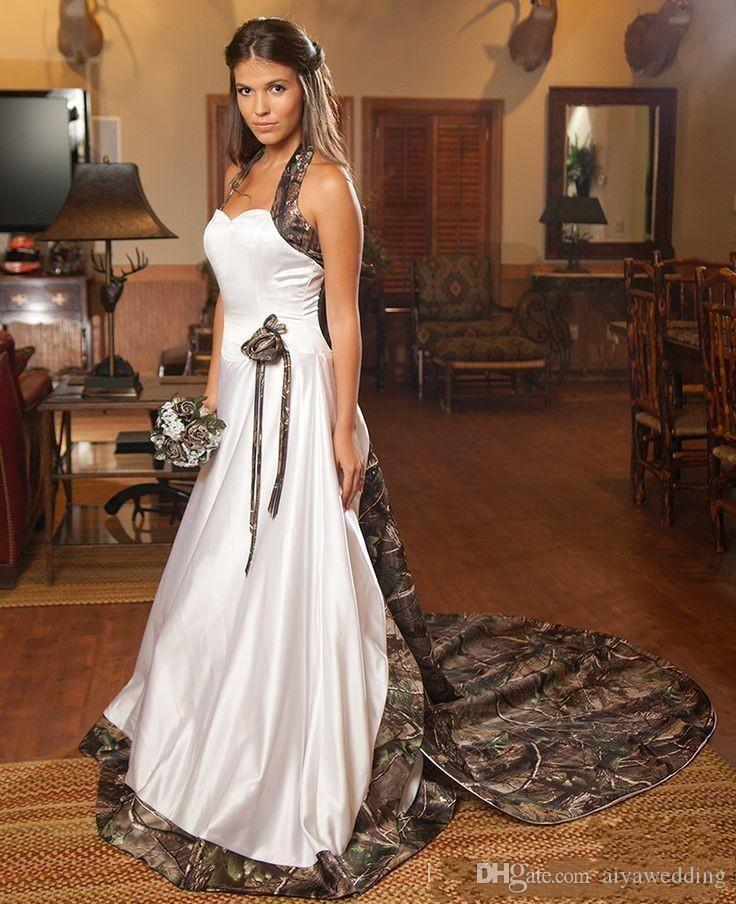 Discount Camo Wedding Dress Plus Veils Vintage Fashion Custom Made Chapel Train Cheap Bridal Gowns Court Train Bridal Veils Two Piece Set Straight Line Wedding Dresses The Wedding Dresses From Aiyawedding 120 28