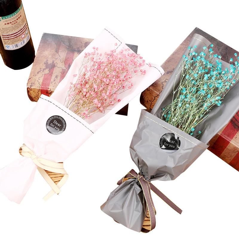 DIY Mini Sky Star Dried Flowers Bouquet For Home Wedding Party Wedding Decoration Scrap Booking Wreath Dried Flowers Valentine'