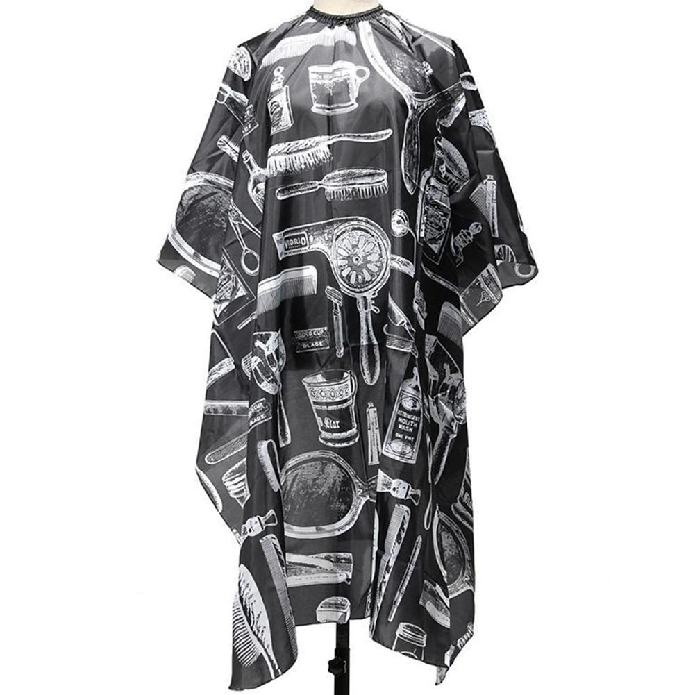 الأوروبية الأمريكية الأزياء الأسود المهنية الساخن صالون تصفيف الشعر تصفيف الشعر قص ثوب حلاقة الرأس القماش الكبار أطفال