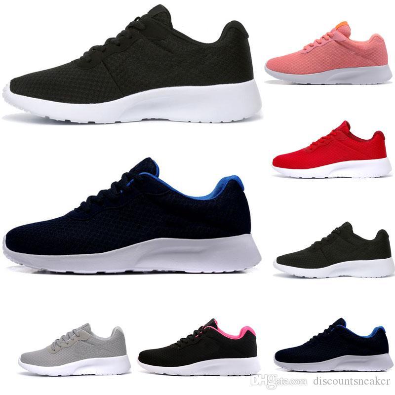 nike shoes tanjun 3.0 кроссовки мужчины женщины черный белый легкий дышащий Лондон Олимпийские работает мужские тренеры спортивные кроссовки размер 36-44