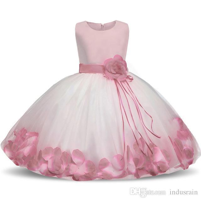 Ai meng bebê flor menina batizado baptismo roupas de bebê recém-nascido menina 1 ano de aniversário vestido de festa infantil vestidos