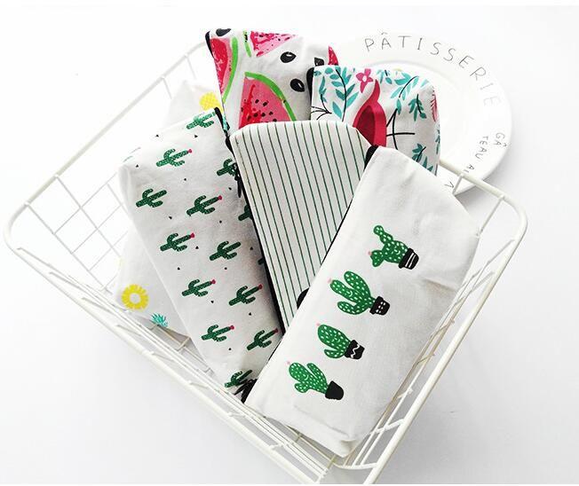 plante cactus créatif Crayon étudiant toile cas enfants cas de papeterie flamant argent poche clé sac à glissière porte