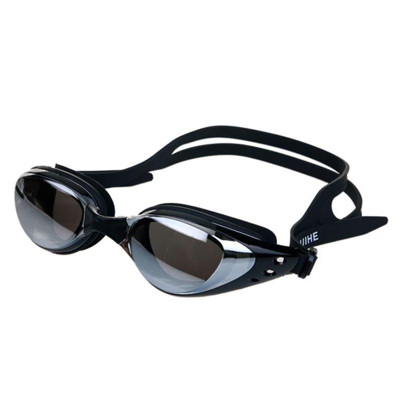 Natation Sport Lunettes Anti-buée Protection UV Étanche Electroplate Hommes Femmes lunettes de natation professionnel