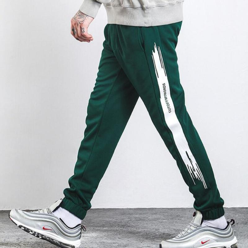 Sweatpants Men Fitness Joggers Pants (5)